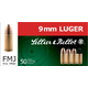 Seller & Bellot 9mm 140gr FMJ Sub Sonic Ammunition 50rds - SB9G