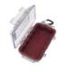 Pelican Model 1015 Waterproof Case - Red / Clear - 1015-008-100