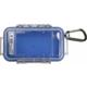 Pelican Model 1015 Waterproof Case - Blue / Clear - 1015-006-100