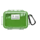 Pelican Model 1010 Micro Case - Green / Clear - 1010-02G-100