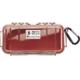 Pelican Model 1030 Waterproof Case - Red / Clear - 1030-028-100