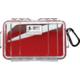 Pelican Model 1050 Case - Red / Clear - 1050-028-100