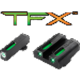 TruGlo TFX- Low Set Pistol Sight ,Fits Most Glock Models, Glock 42, Glock 43 Excluded- TG13GL1A
