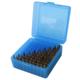 MTM 30 cal 100rd flip top box Blue RM-100-24