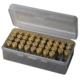 MTM 50rd Flip-Top Ammo Box - 9mm, 380 ACP - - 50-9-41