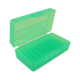MTM FlipTop Ammo Box 380ACP/9mm-Bright Green-50rd-P50-9M-16
