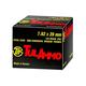 Tula 7.62x39mm 122gr FMJ Steel Case Ammunition 100rds - UL076210
