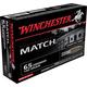 Winchester 6.5 Creedmoor 140gr HPBT Match Ammunition 20rds - S65CM