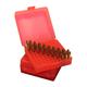 MTM Case-Gard Flip-Top .44 Rem 100 Rounds Ammo Box, Red - P-100-44-29