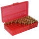 MTM FlipTop Ammo Box 38spl .357 MAG-Red-50rd-P50-38-29
