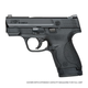 Smith & Wesson M&P .40 SHIELD Pistol, No Thumb Safety – 10034