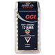 CCI .17 HMR 16gr TNT Green HP Ammunition 50rds - 951