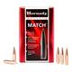 Hornady 30 Cal (.308) 155gr BTHP Match Bullets, 100 Count – 3039