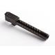 ZEV Match Grade Barrel G19, Dimpled, Black - - BBL-19-D-DLC