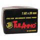 Tula 7.62x39mm 124gr SP Steel Cased Ammunition 40rds - UL076213
