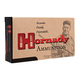 Hornady 22 Hornet 45gr SP Match Custom Ammunition, 50 Round Box ‒ 83028