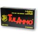 Tula 5.45x39mm 60gr FMJ Steel Cased Ammunition 20rds - TA545390