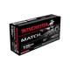 Winchester 5.56mm 77gr BTHP Match Ammunition, 20 Round Box - S556M