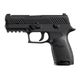 Sig Sauer Pistol P320 Compact Black 9mm Contrast Sights