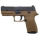 Sig Sauer Pistol P320 Compact 9mm FDE Frame Contrast Sights 320C-9-T-FDE