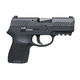 Sig Sauer P320 Subcompact 9mm Pistol w/ Night Sights & Rail, Black