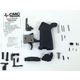PSA CMC 3.5Lb. Single Stage Curved Trigger MOE Parts Kit-Black- CMC MOE LPK - 7791120