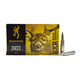 Browning 243 Winchester 97gr BXR Rapid Expansion Rifle Ammunition, 20 Round Box - B192102431
