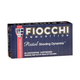 Fiocchi .40 S&W 180gr FMJ Flat Nose Ammunition, 50 Round Box - 40SWD