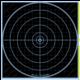DOAll AccuBlue Splatter Target 12
