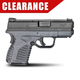 Springfield Armory XDS 9mm Pistol, Grey Essentials – XDS9339YE