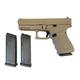 Glock 19 Gen4 9mm Pistol, Magpul FDE Frame and Slide - UG1950203MPDE