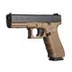 Glock G17 Gen4 9mm Pistol, 17+1 RD, Flat Dark Earth - PG1750203D