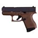 Glock G43 Gen3 9mm Pistol, 6+1 RD, Flat Dark Earth - UI4350201D