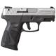 Taurus PT111 Millennium G2 9mm Pistol, Stainless Steel - 1-111039G2-12