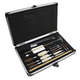 Outers 28 Piece Universal Aluminum Gun Care Case for .22Cal & Up – 63511
