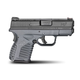 Springfield Armory Pistol XDS 9mm Grey Essentials XDS9339YE Display Model