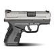 Springfield Armory Pistol XD MOD.2 Sub Compact BiTone 9mm XDG9821HC Display Model