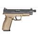 Springfield Armory Pistol XDM .45acp FDE Threaded Barrel 4.5