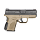 Springfield Armory XD-S Single Stack .45 ACP Flat Dark Earth Pistol Display Model