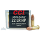 CCI .22 Long Rifle 36 Grain Copper Plated Hollow Point 100rds - 0031