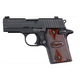 Sig Sauer Pistol P938 9mm Blk/Rosewood 9rd  938-9-RG-AMB Range Model
