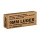 Remington Military/LE Overrun 9mm Luger 115 Grain FMJ Ammunition, 50rds - B9MM3