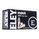 ELEY Match .22 LR 40gr Ballistic Performance Ammunition, 50 Rounds – 01100