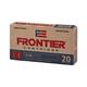 Hornady T2 Frontier 5.56 NATO 75 Grain BTHP Match Ammunition, 20rds - FR320