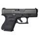 Glock 26 Gen5 9mm Pistol w/ Night Sights, Black - PA2650701