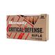 Hornady Critical Defense 223 Rem 73gr FTX 20rds Ammunition - 80260