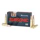 Hornady Subsonic 300 Blackout 190gr SUB-X 20rds Ammunition - 80877