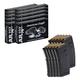 American Eagle 200rds .223 55gr FMJ Ammunition & Ten (10) Magpul PMAG 30, 5.56x45 Magazines