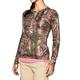 Under Armour Women's Heatgear Evo Camo L/S Shirt, Realtree Xtra- 1237119-946