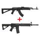 Blem PSAK-47 GB2 Moe Rifle & PSA AR15 16